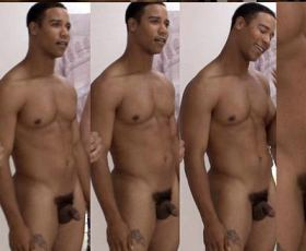 Hot gay with gay black dick showing it unerected